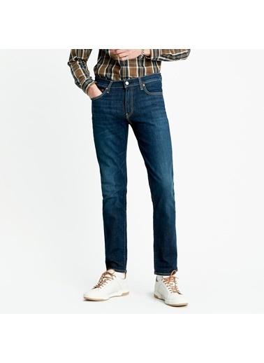 Levi's® 045114102 511 Pamuklu Slim Fit Normal Bel Dar Paça Erkek Jean Pantolon Lacivert